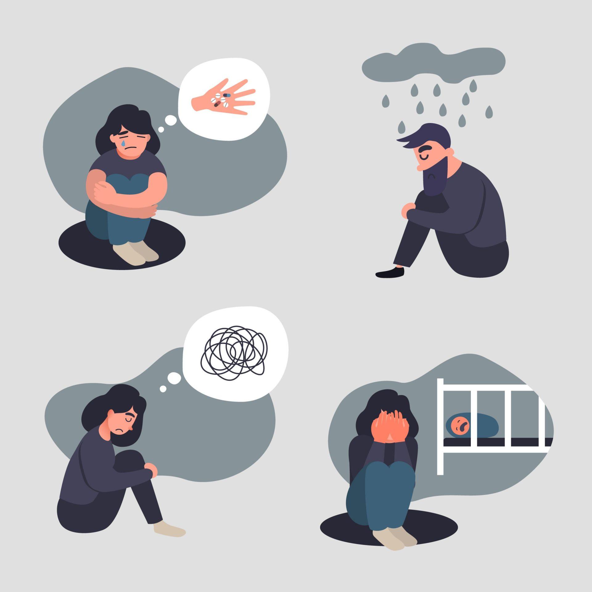 Depresia postnatala poate să apară și la tați