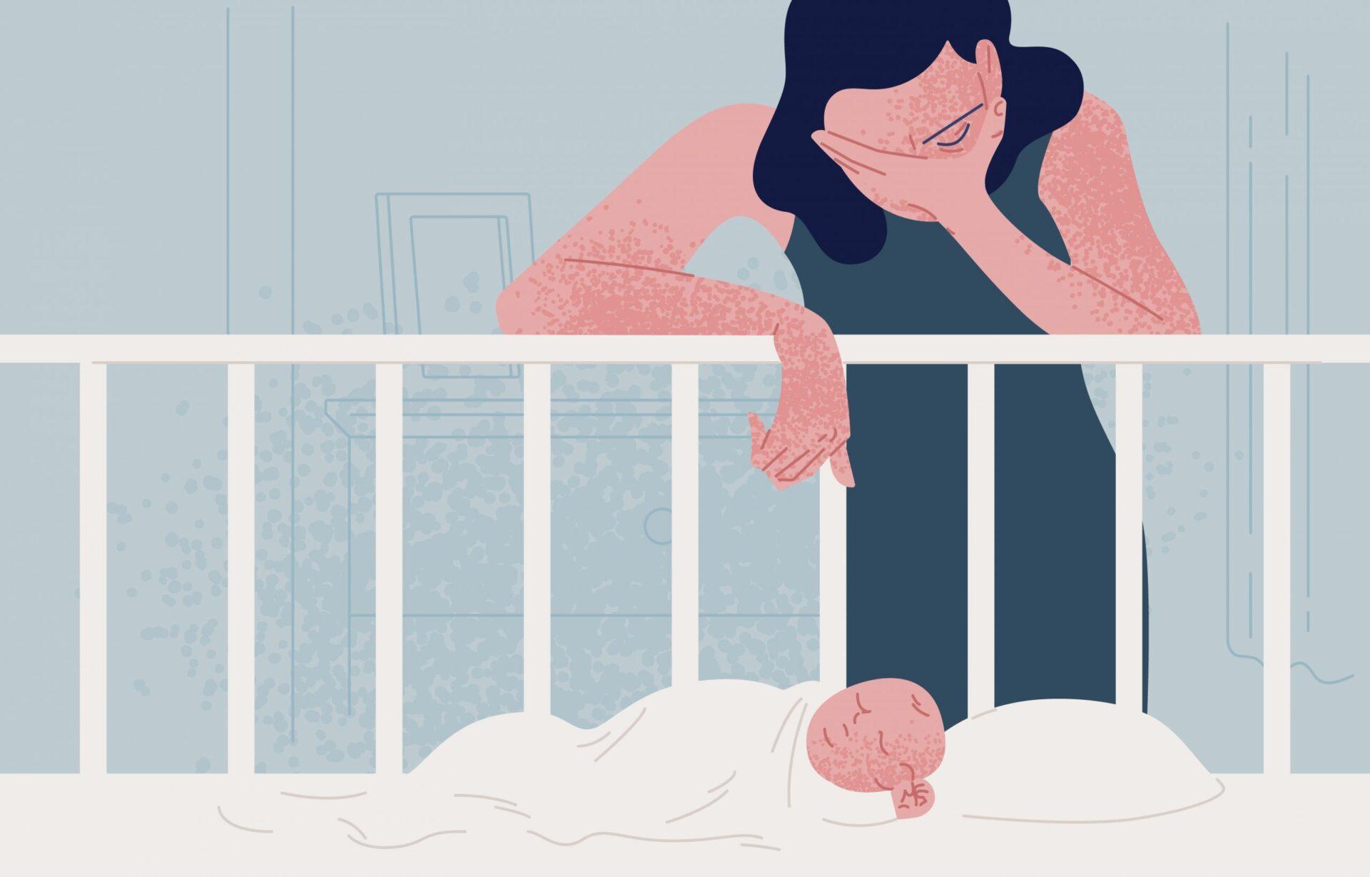 Depresia postnatala este mult mai frecventă decât o arată statisticile