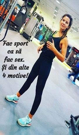 Fac sport ca să fac sex și alte 4 motive