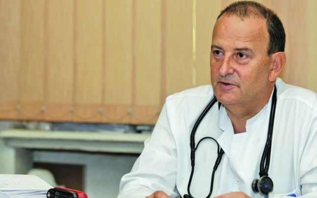 """Prof. Dr. Florin Mihălțan, Șef de secție la Institutul de Pneumoftiziologie """"Marius Nasta"""", București"""