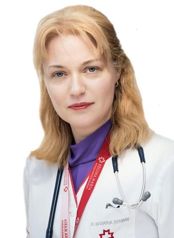 Ana Maria Șerban, medic primar Cardiologie - Regina Maria