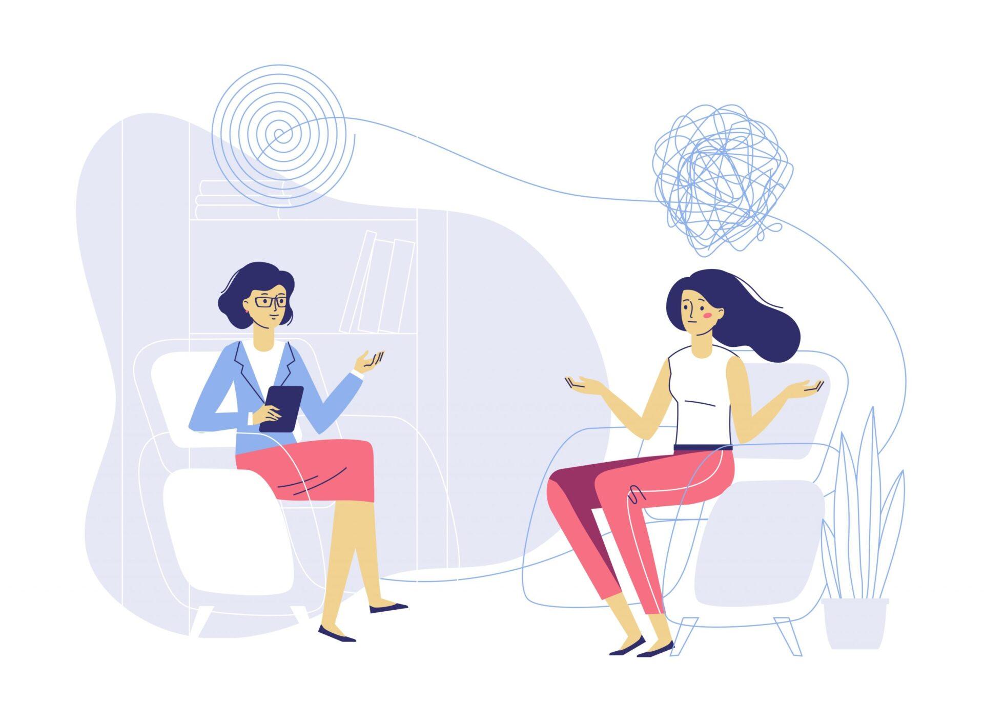 Psihoterapia cognitiv-comportamentală este una dintre cele mai populare forme de terapie