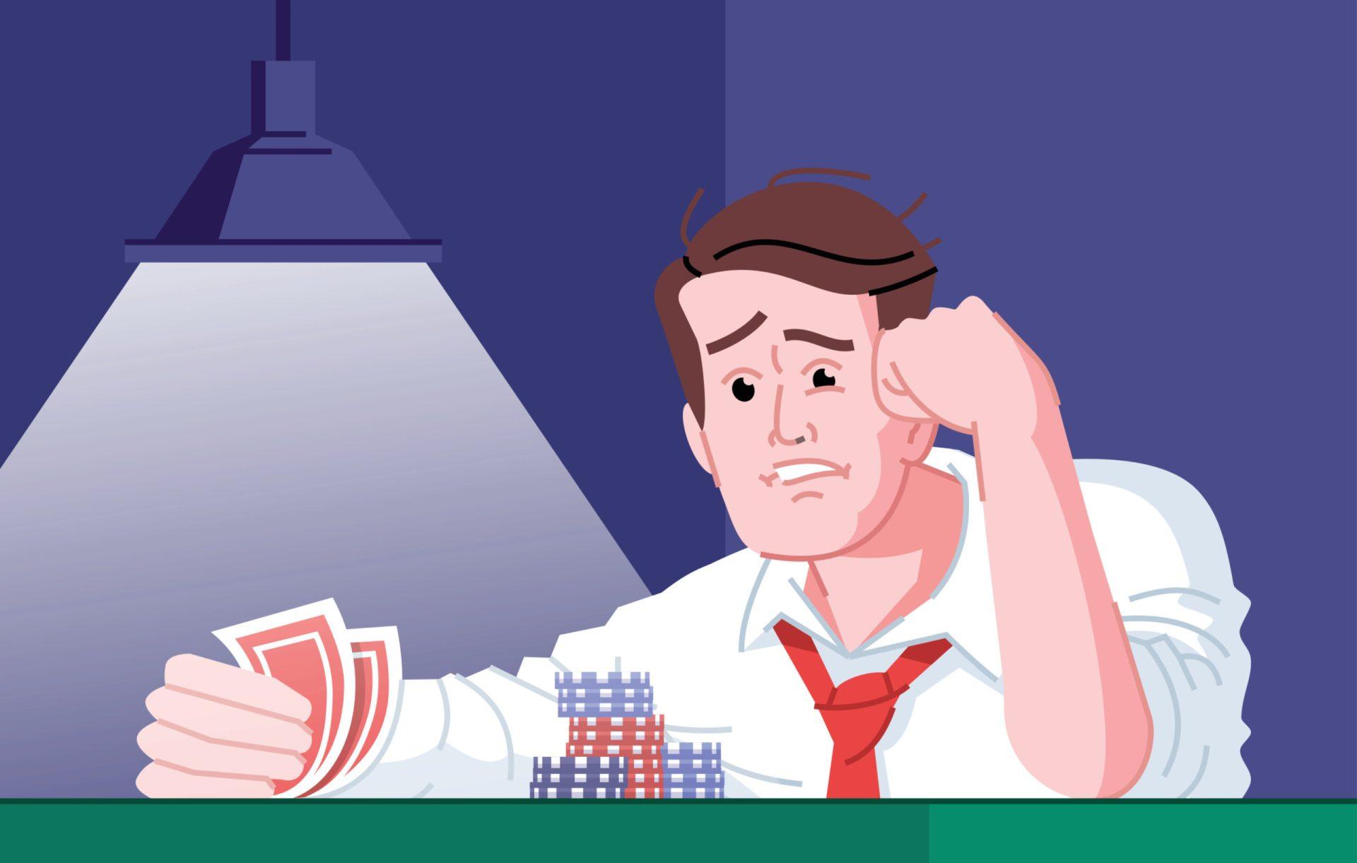 Dependent de jocuri de noroc