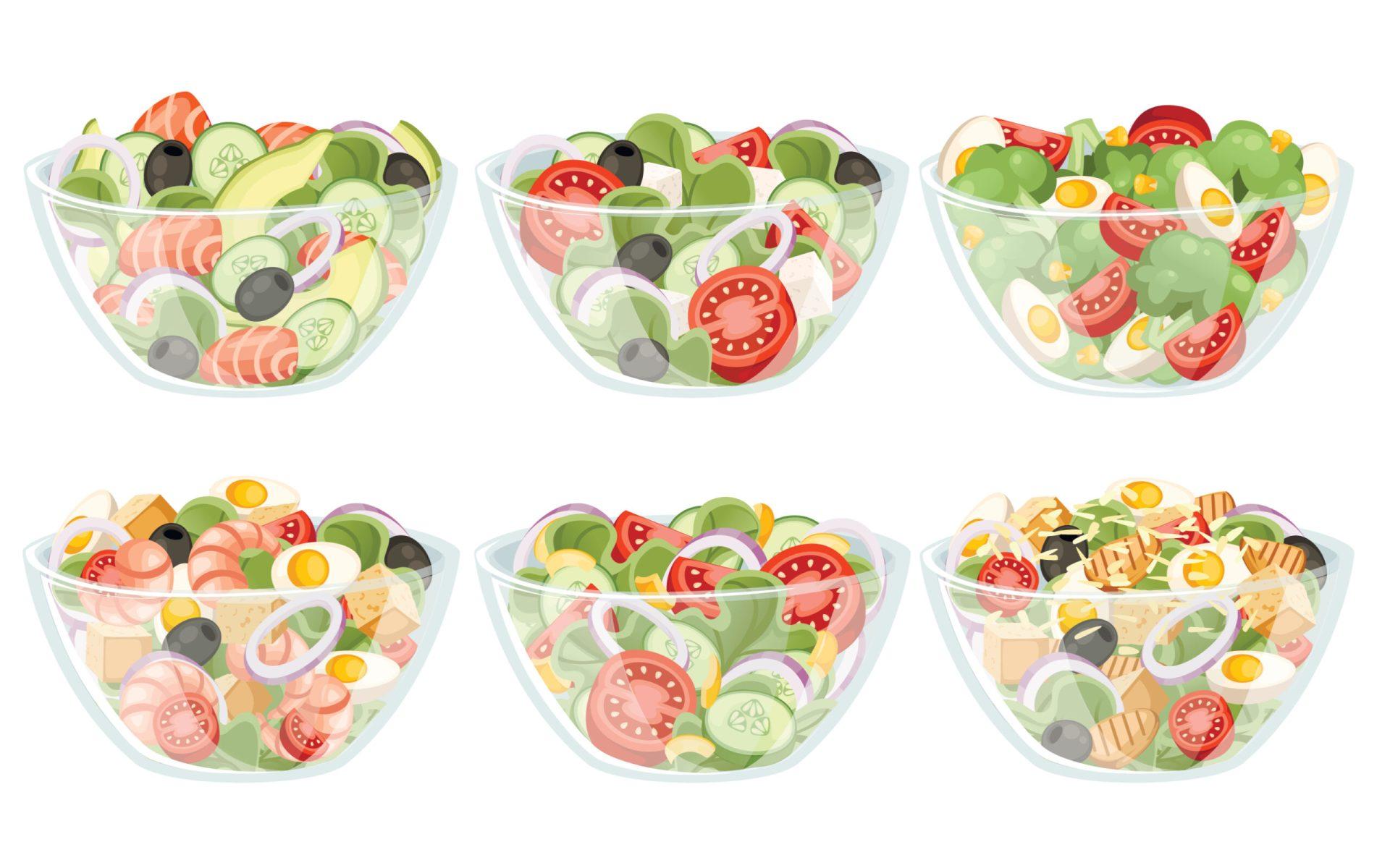 Cautați idei de retete de salate de vara delicioase? Găsiți în articol 10 variante