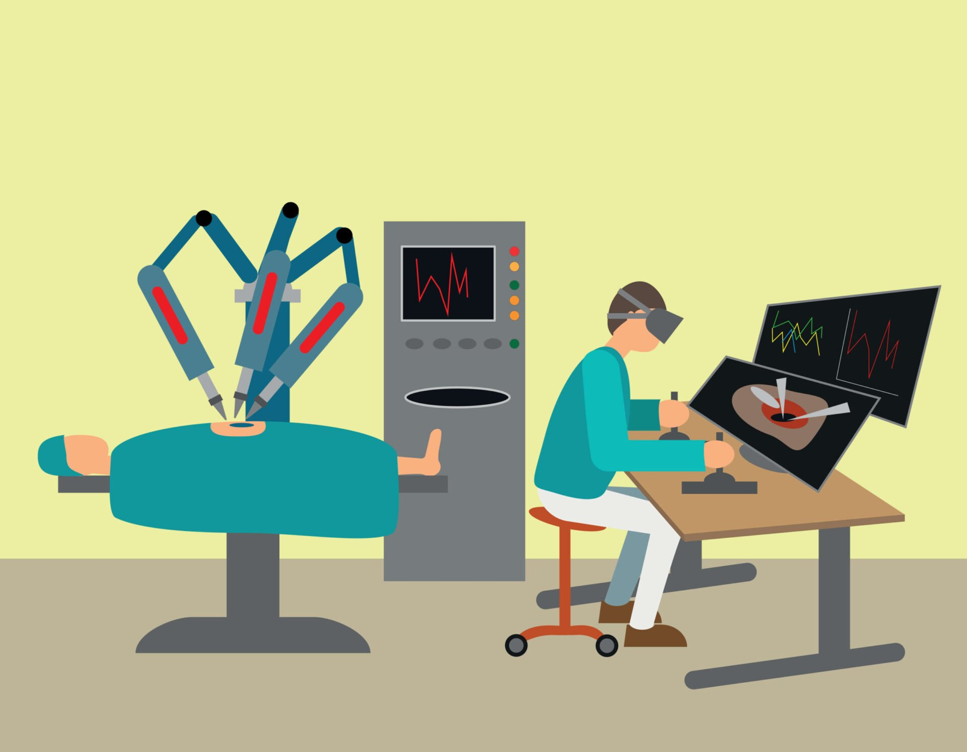 roboți medicali