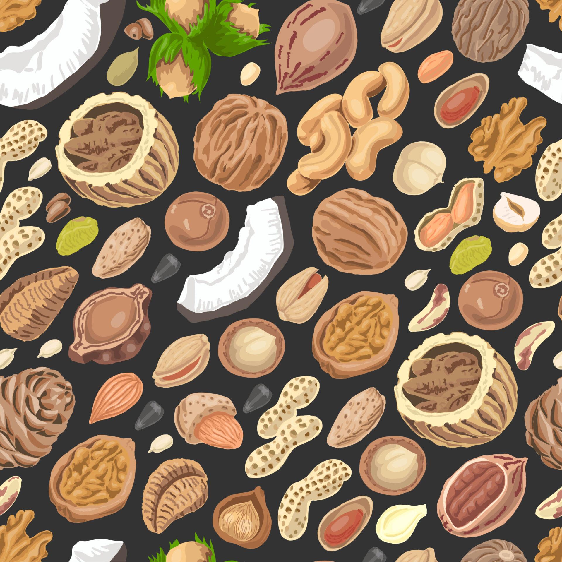 Cercetările au arătat că nuciferele (nuci, alune, migdale, caju, fistic) pot ajuta la reglarea nivelului de zahăr din sânge.
