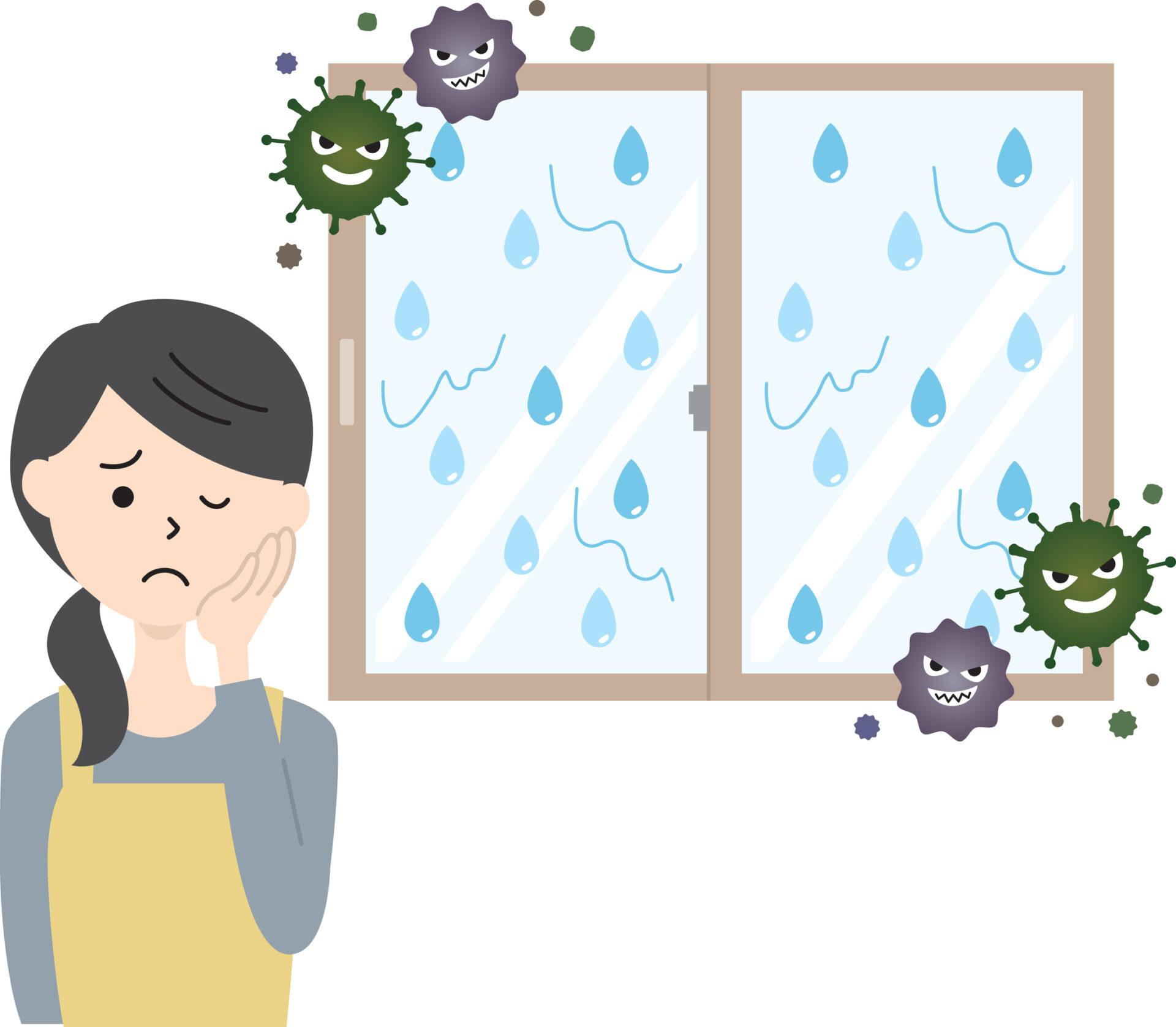 Din cauza ferestrelor prea bine închise, pot apărea probleme de ventilație și implicit mucegai, atenționează medicii