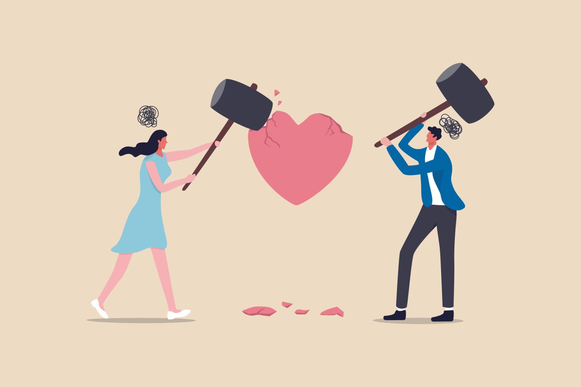 Anxietatea în cuplu creează distanță între cei doi parteneri