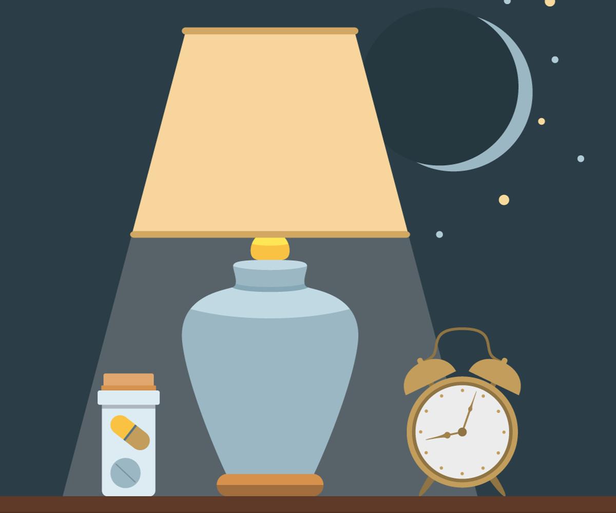 cand se ia magneziu seara sau dimineata? Suplimente cu magneziu lângă un ceas, seara, sub lumina lunii