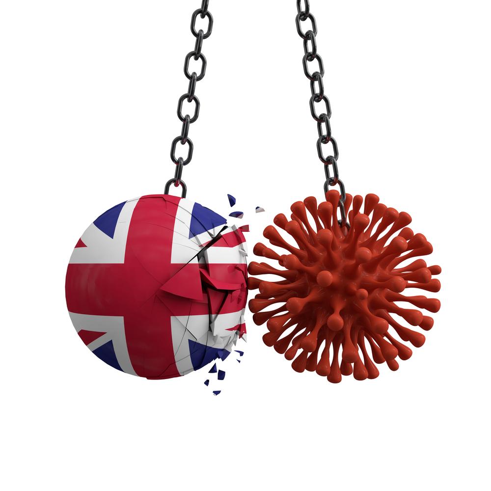 coronavirus steag Marea Britanie