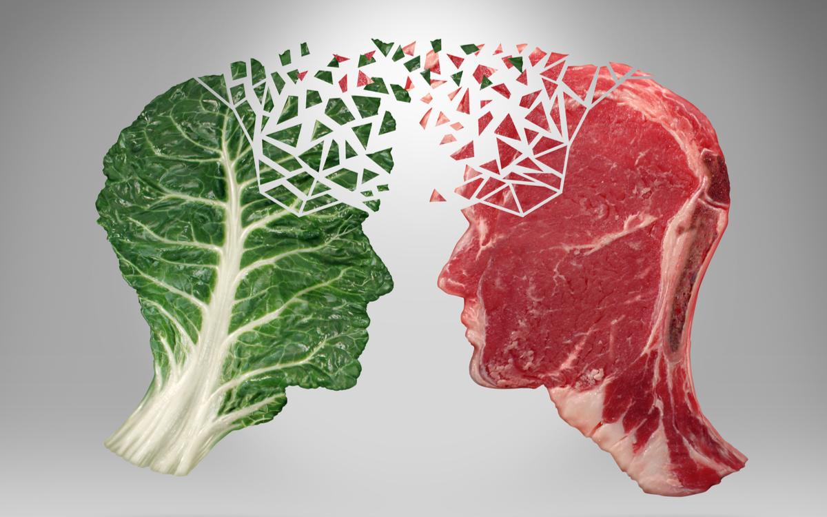 proteinele animale sau vegetale. salata versus carne