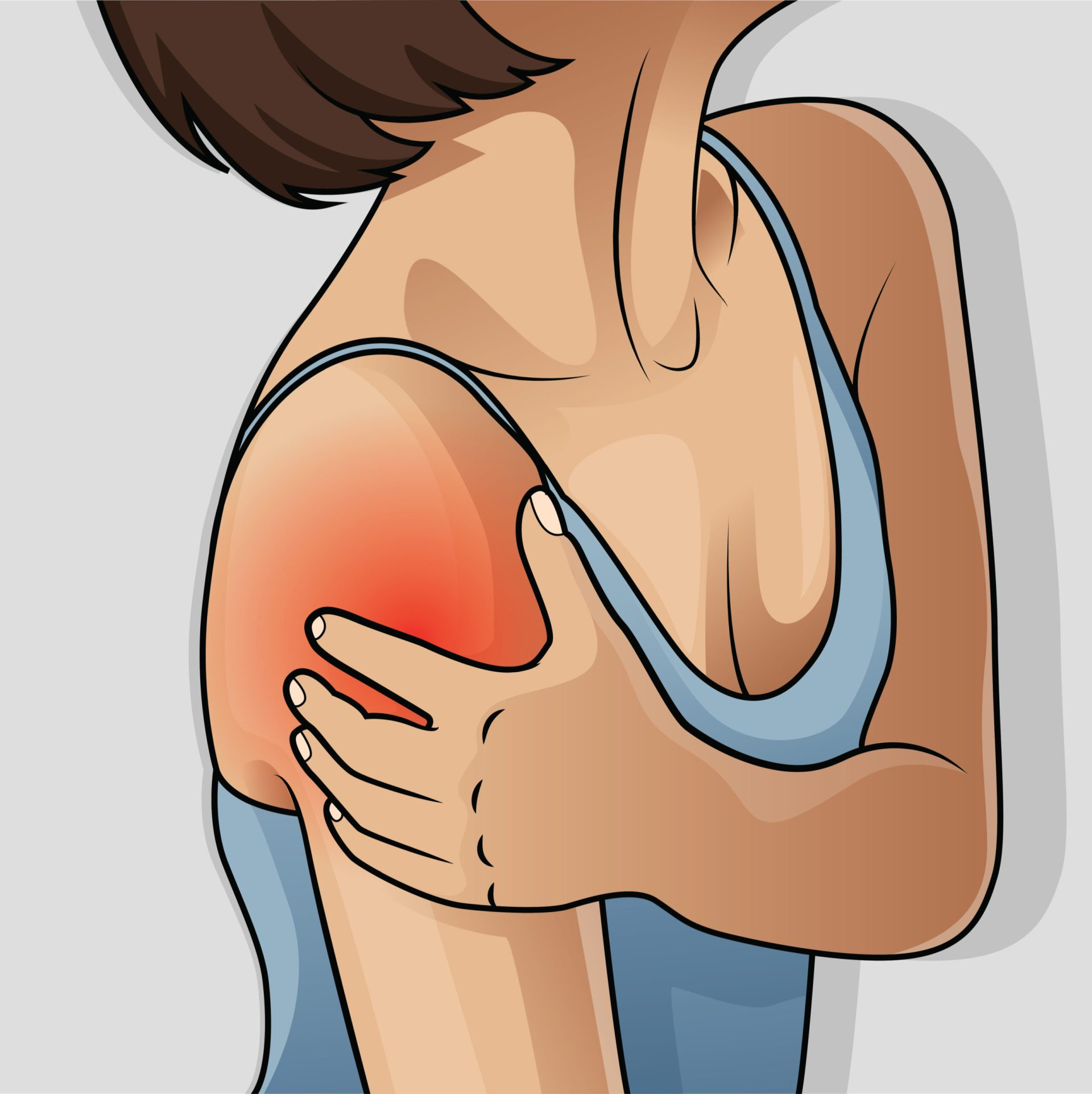 Afecțiunile cardiovasculare, dar și accidentul vascular cerebral, boala Parkinson sau afecțiunile tiroidei pot fi responsabili de bolile de umar. Foto: Shutterstock
