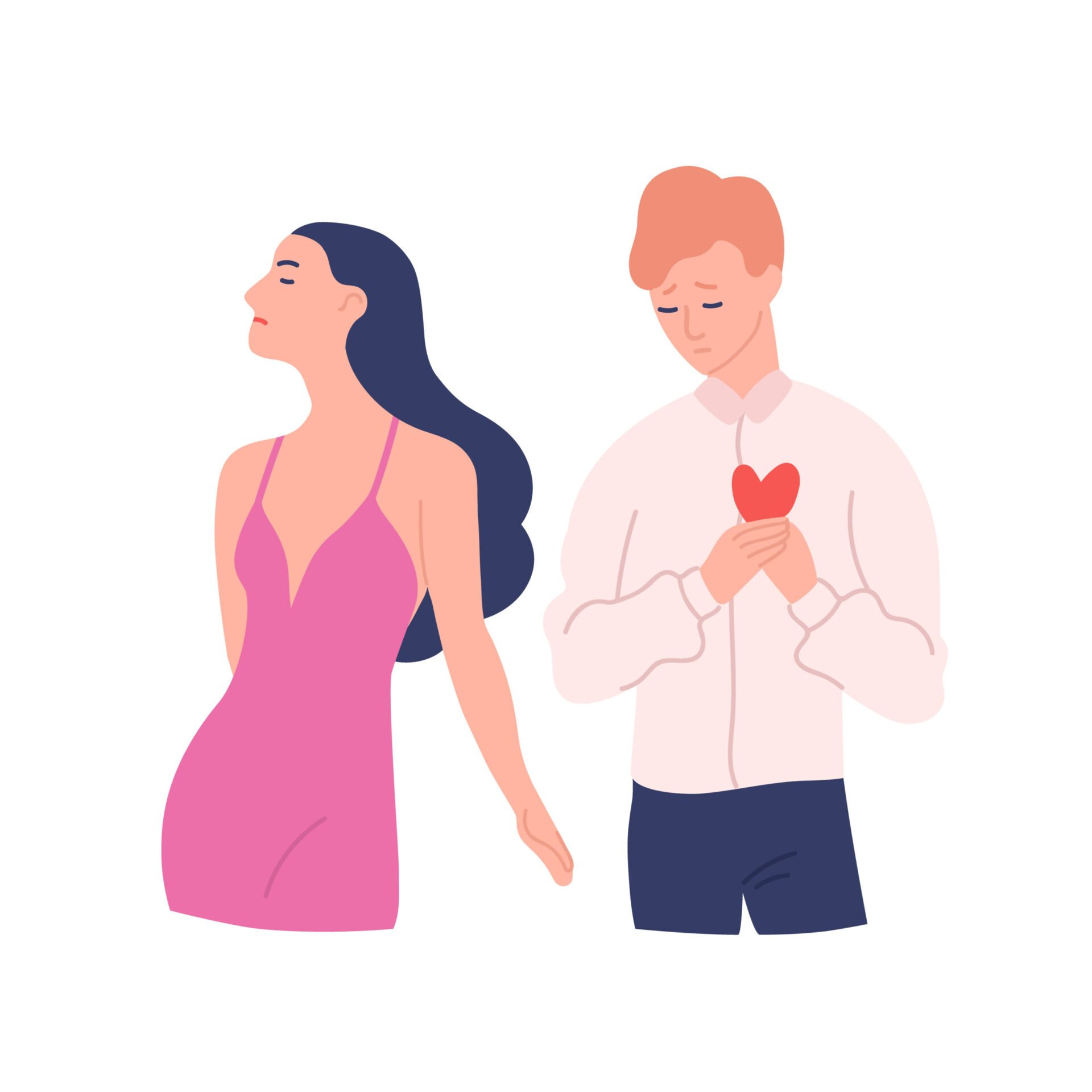 Refuzul iubirii când ești indisponibil emoțional