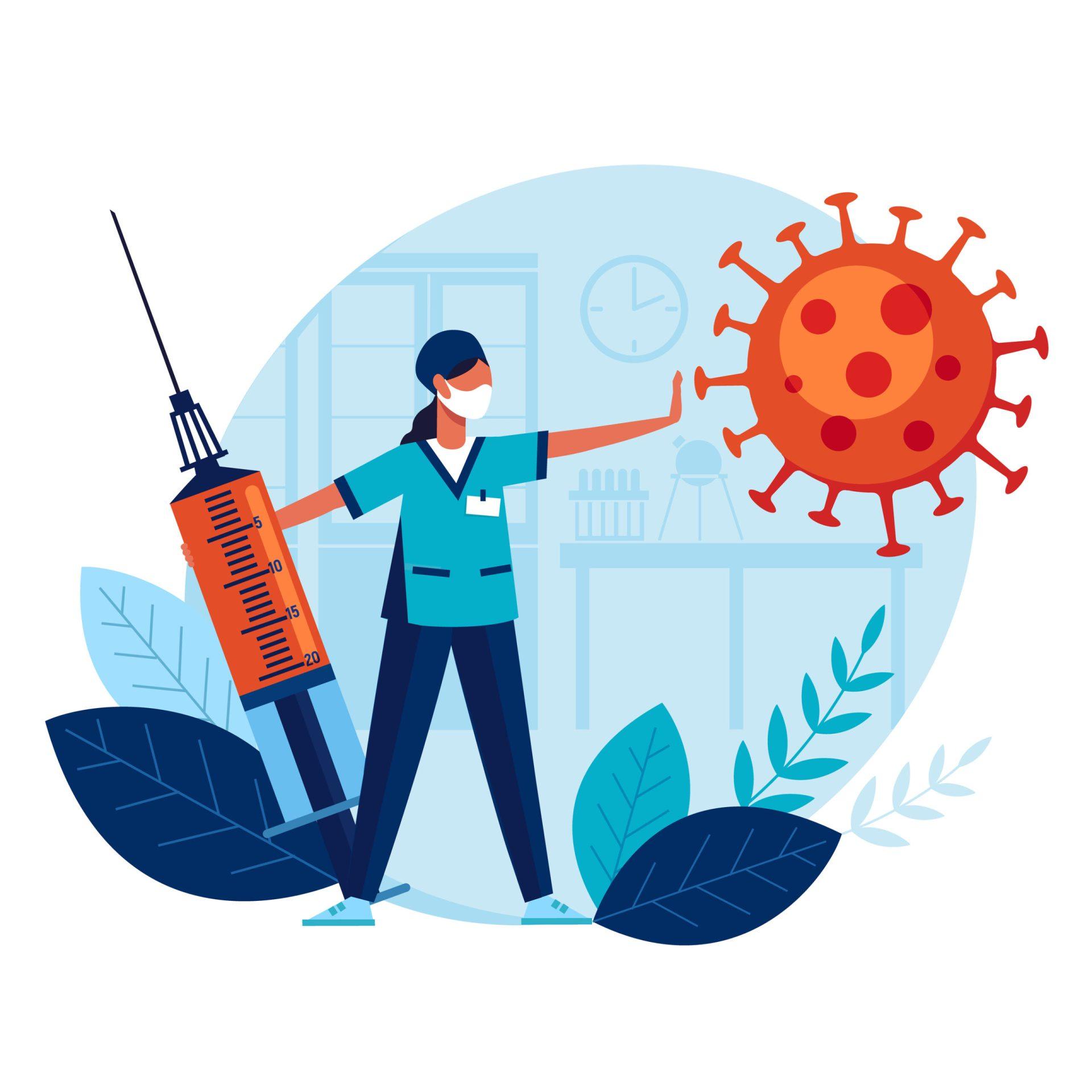 Imedait după vaccinare, nu mergeți în aglomerații pentru a nu risca o contaminare imediată.