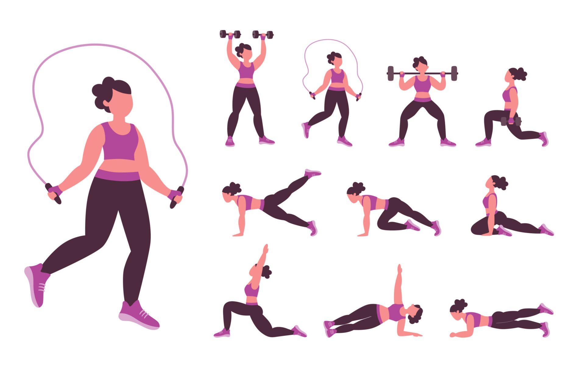 Sări coarda pentru a slăbi! Este un alt exercițiu cardio la îndemâna oricui, distractiv, dar solicitant.