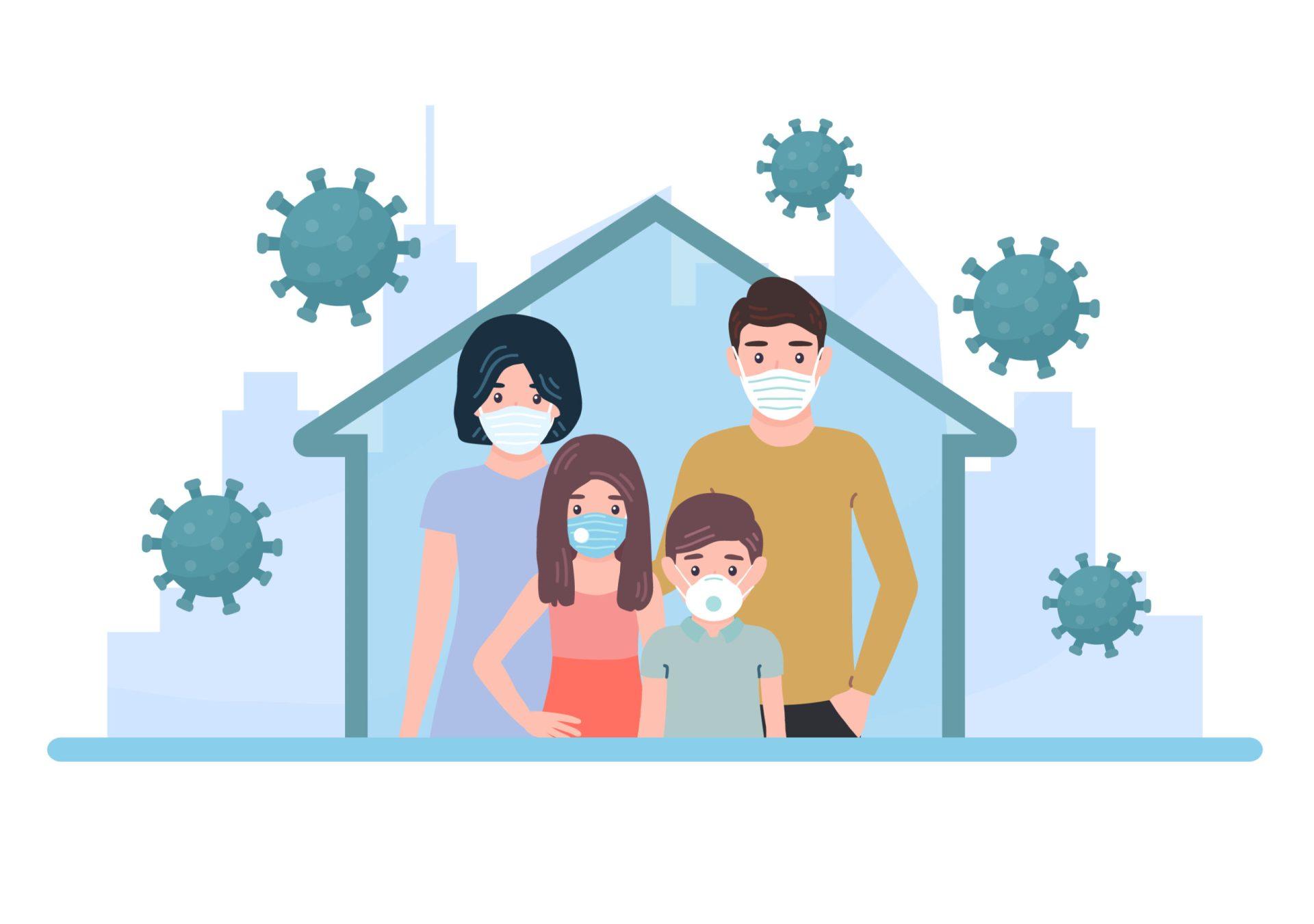 Părinți și copii în pandemie