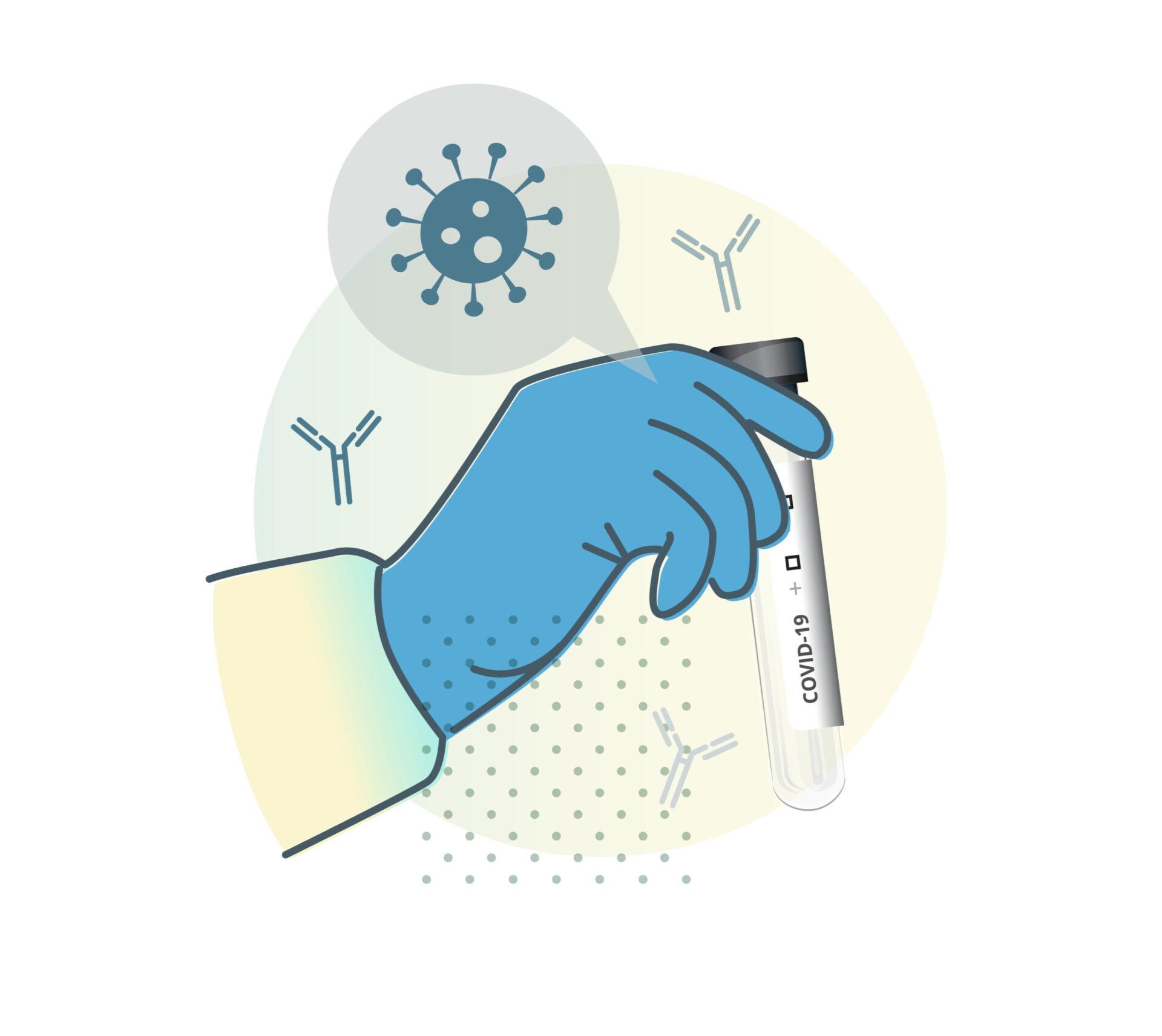 Anticorpii COVID după vaccinare se determină printr-o analiză de sânge Foto: Shutterstock
