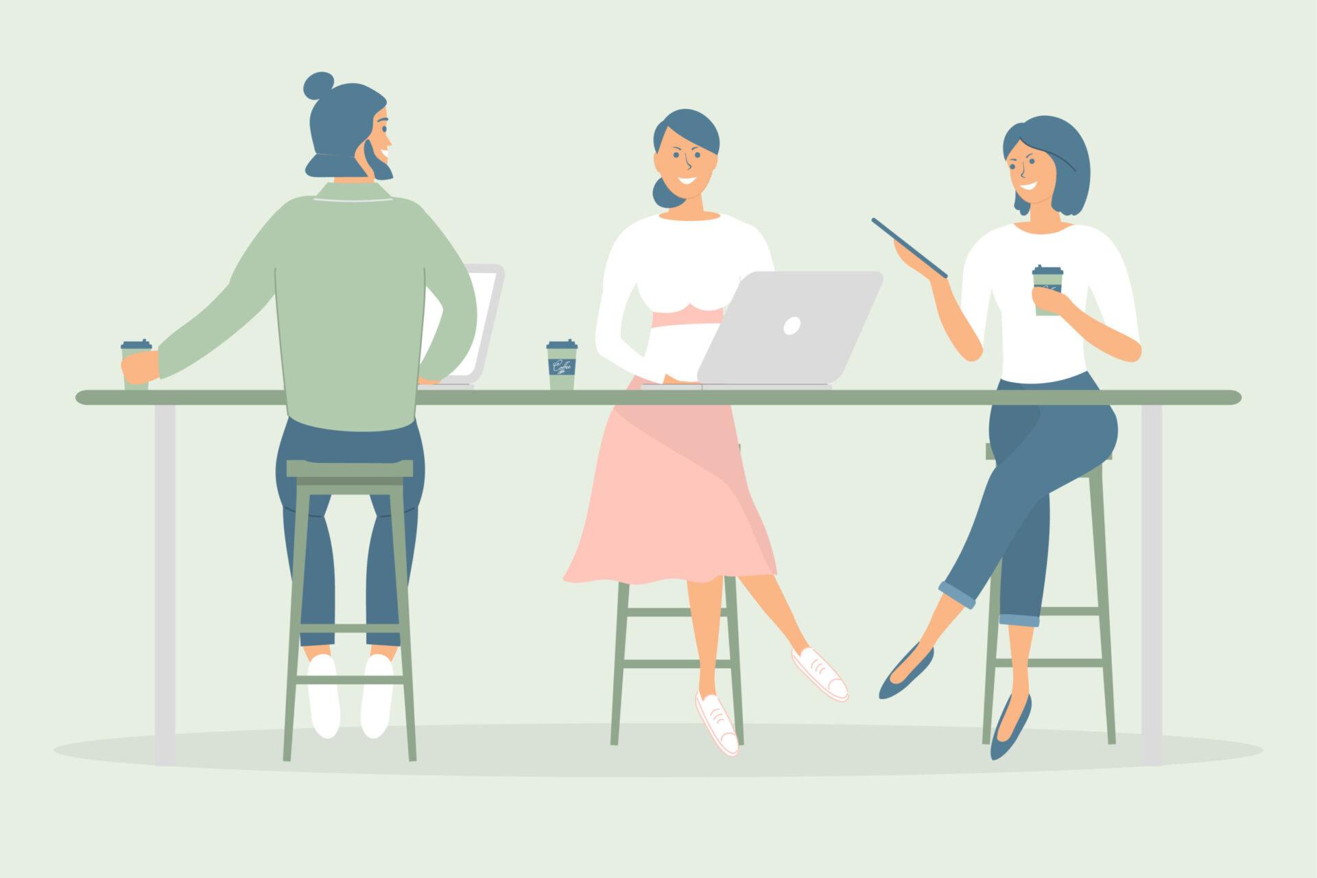 Inteligența emoțională - colegi de muncă în relații armonioase