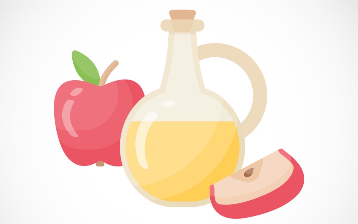 otet de mere beneficii scade glicemia ajuta la slabit. o sticla cu otet langa doua mere