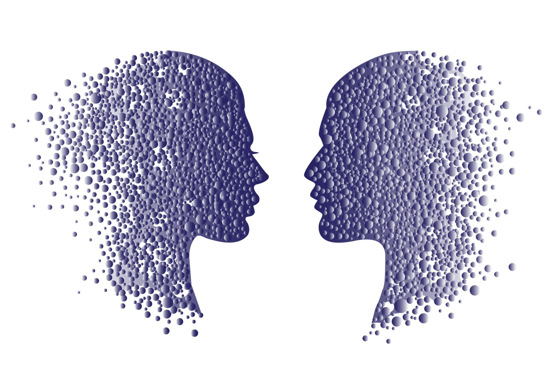 Ilustrație privind singurătatea în cuplu