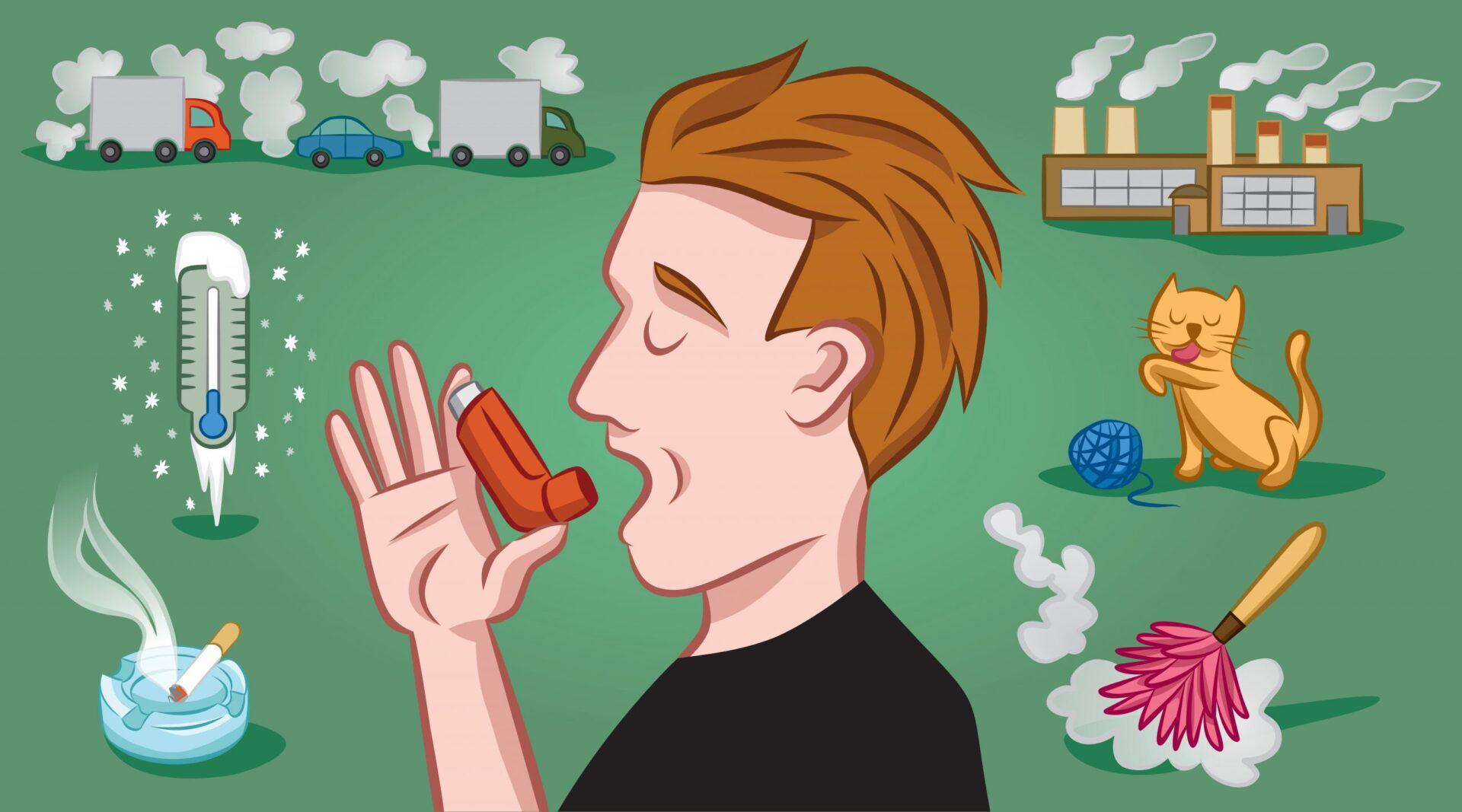 persoana alergica