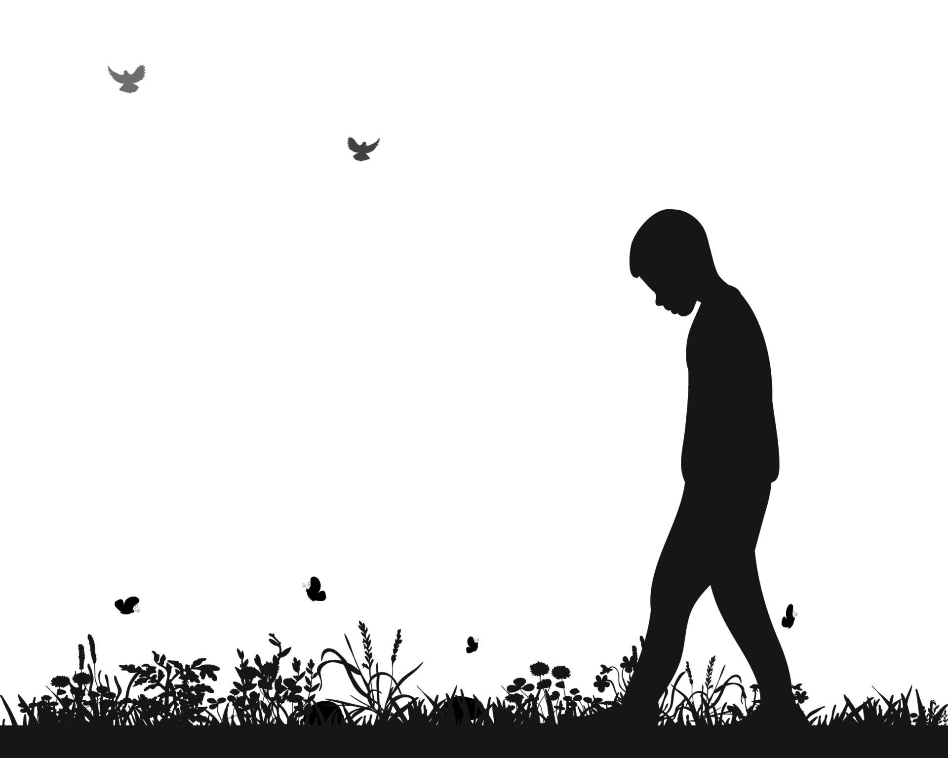 Copil trist din cauza unor părinți toxici