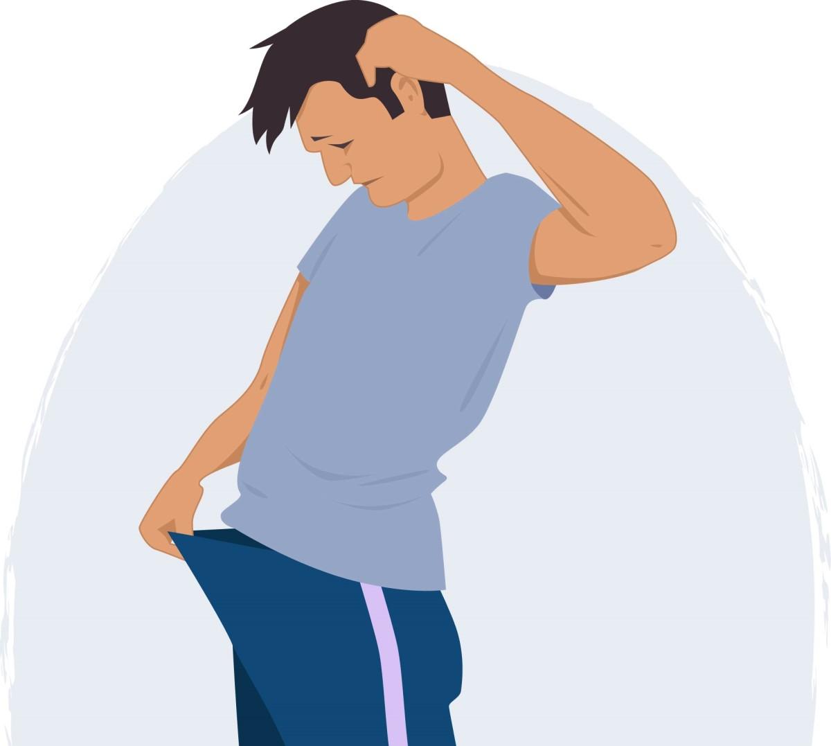 sifilis simptome transmitere tratament si vindecare. barbat care se uita in pantaloni