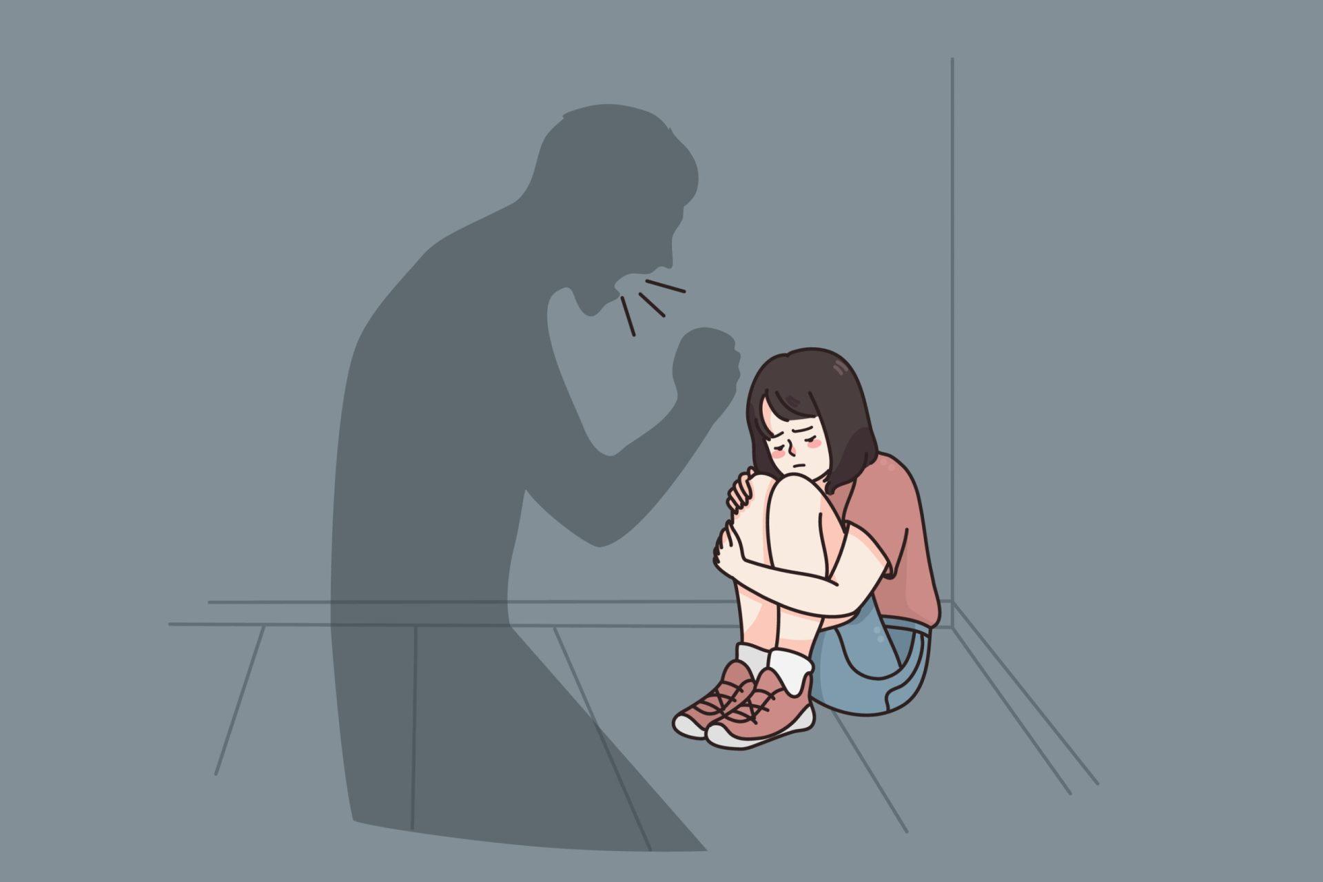 tată abuzându-și emoțional fiica