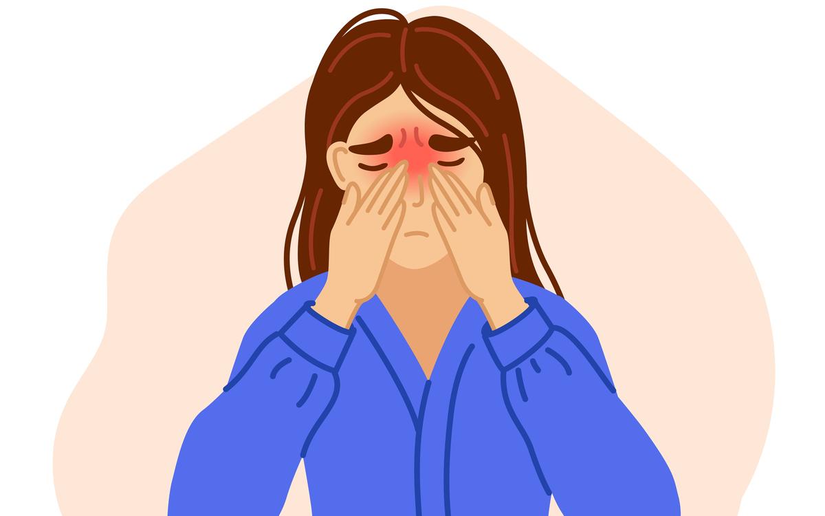 deviatie de sept simptome tratamente si operatie. femeie cu nasul infundat