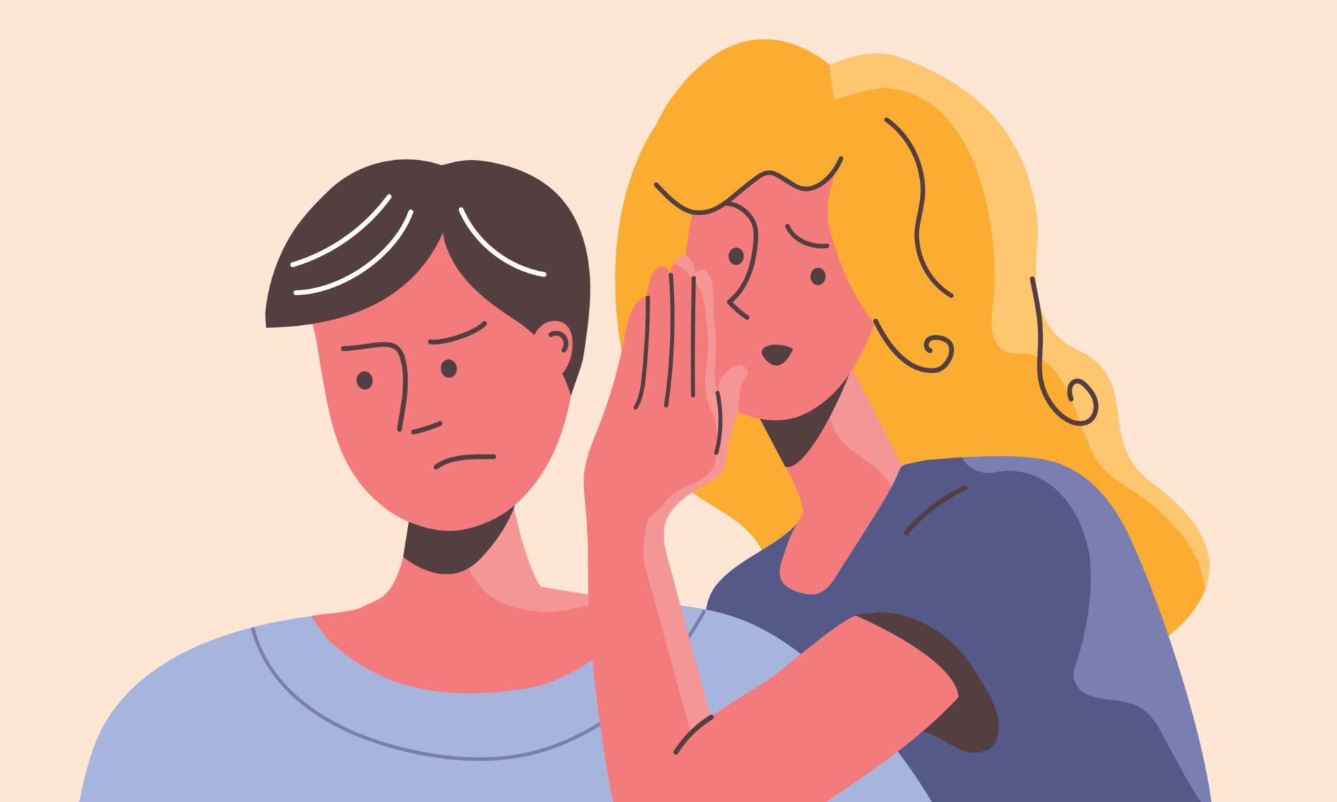 femeie în rol de partener manipulator