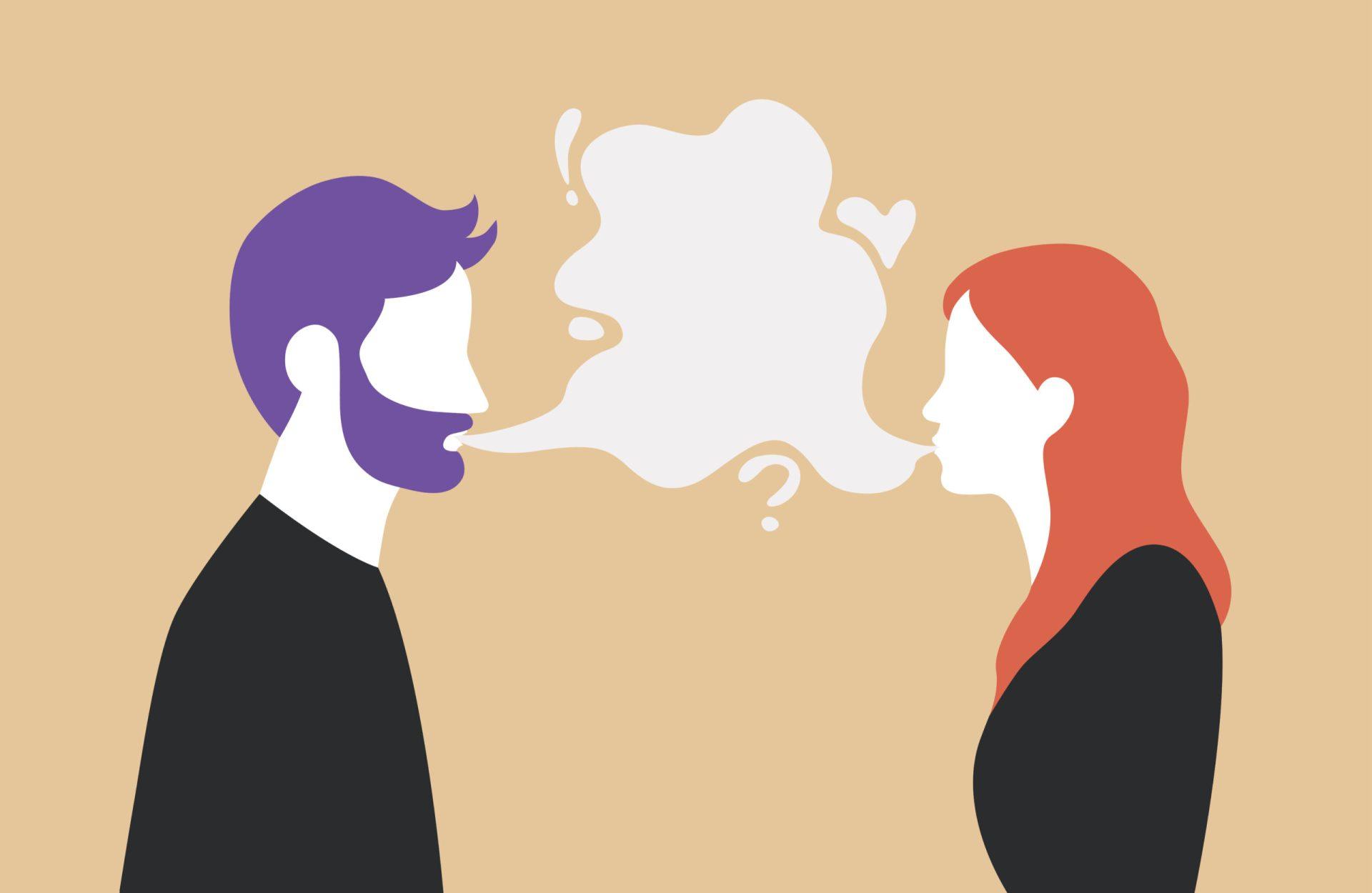 în căutarea unei femei care să comunice