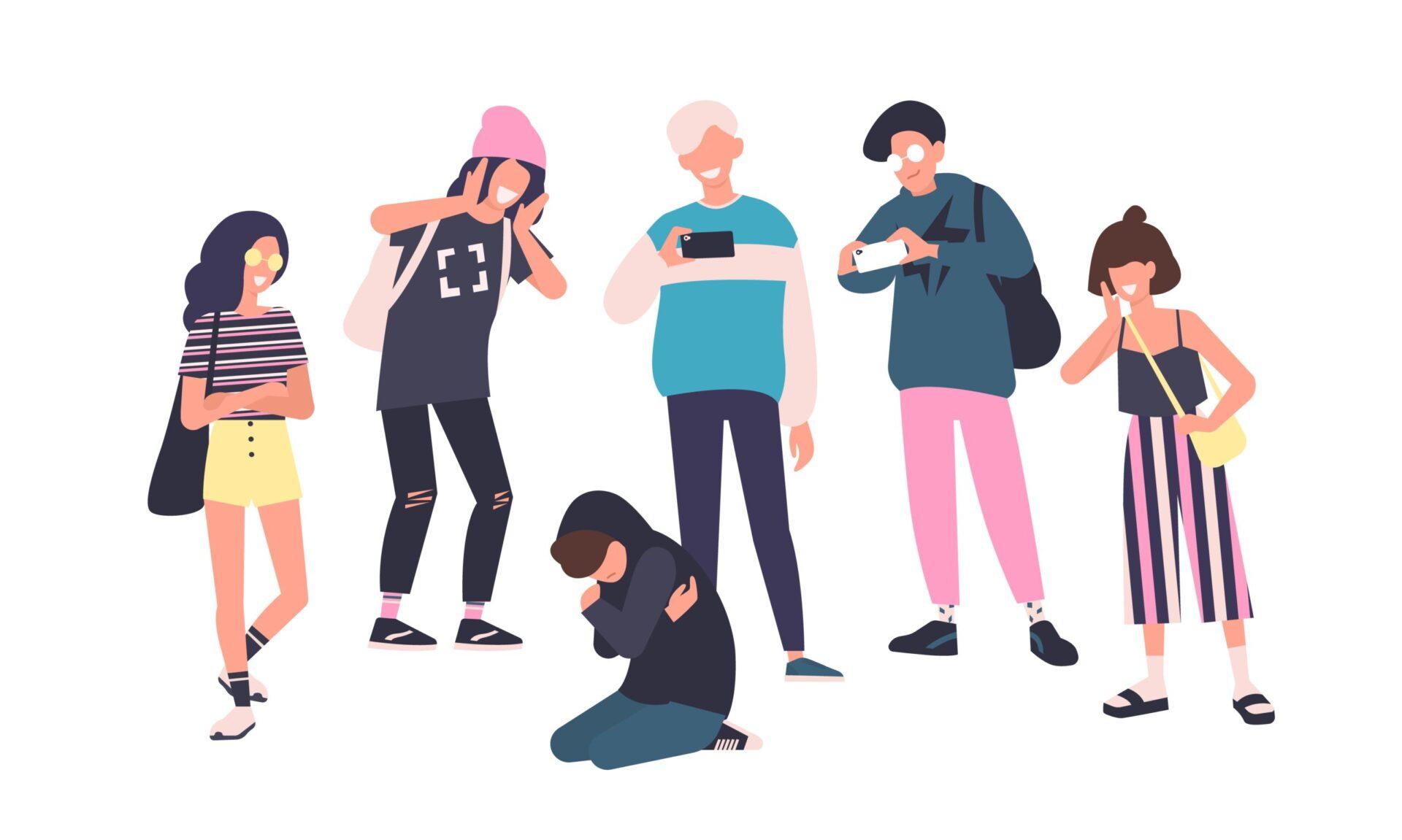 Copil victimă a bullying-ului